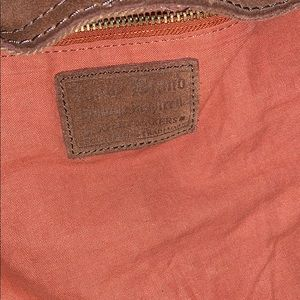 Lucky Brand Bags - Lucky Brand Vintage Inspired Suede Shoulder Bag